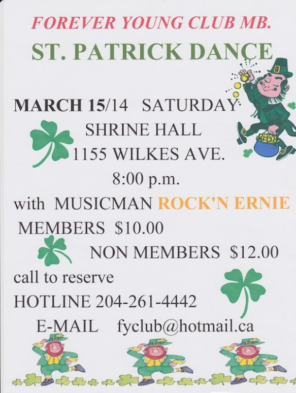 St. Patricks Day Dance